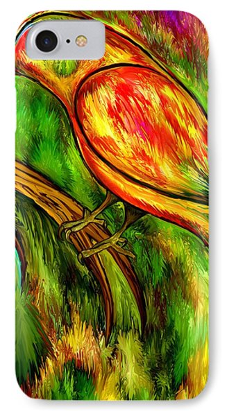 Bird On A Branch Phone Case by Rafi Talby