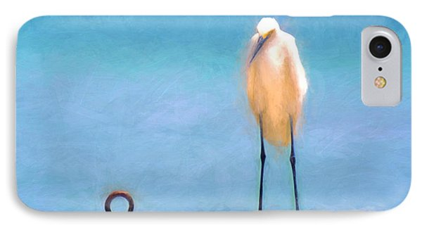 Bird On The Rail IPhone Case by Glenn Gemmell