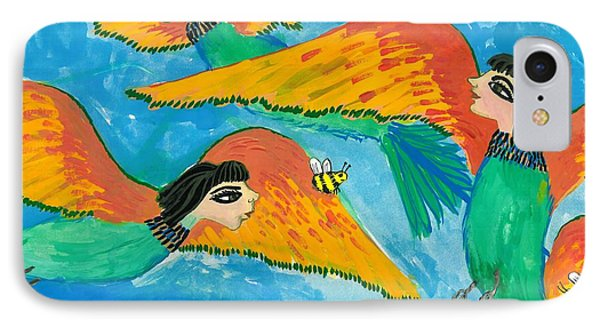 Bird People Bee Eaters For Artweeks IPhone Case