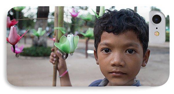 Bird Selling Boy IPhone Case