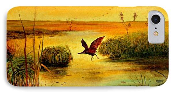 Bird Water Phone Case by Henryk Gorecki