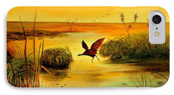 Bird Water IPhone Case by Henryk Gorecki