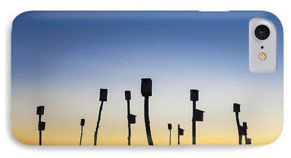 Birdhouse Sunrise IPhone Case by John Greim