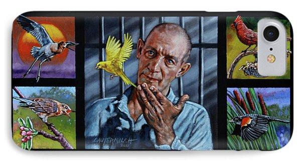 Birdman Of Alcatraz IPhone Case by John Lautermilch