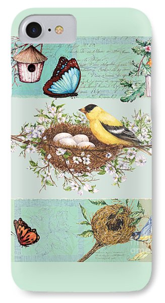 Birds And Bees IPhone Case