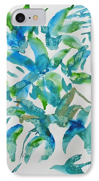 Birds And Blooms IPhone Case