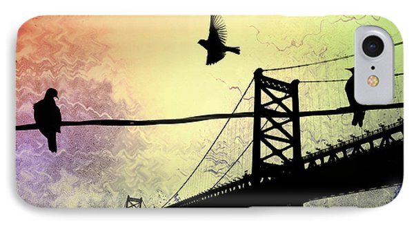 Birds Eye View Phone Case by Bill Cannon