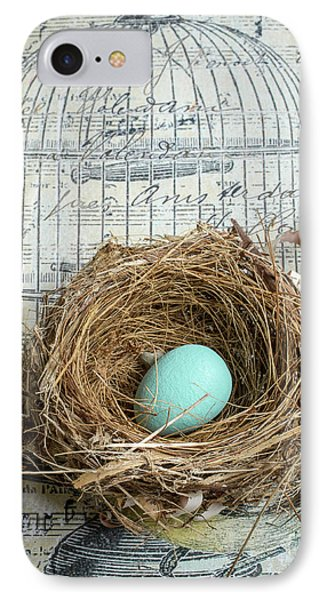 Birds Nest IPhone Case by Edward Fielding