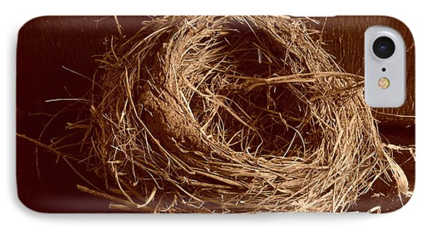 Bird's Nest Sepia IPhone Case