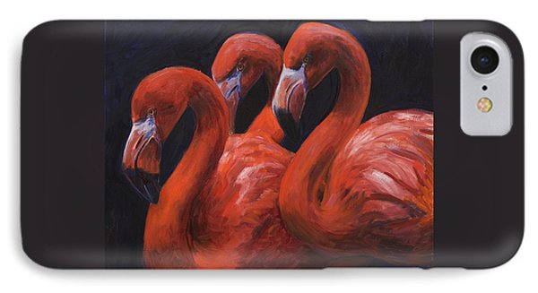 Birds Of A Feather Phone Case by Billie Colson