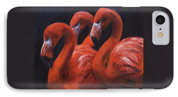 Birds Of A Feather IPhone Case by Billie Colson