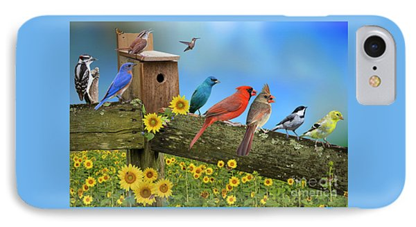 IPhone Case featuring the photograph Birds Of A Feather by Bonnie Barry