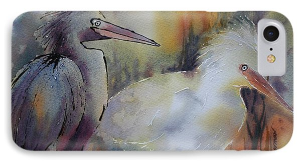 Birds Of A Feather IPhone Case by Tara Moorman