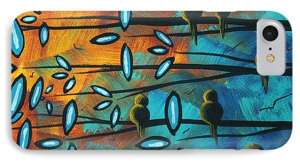 Birds Of Summer By Madart Phone Case by Megan Duncanson