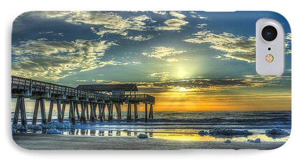 Birds On The Roof Sunrise Tybee Island IPhone Case by Reid Callaway