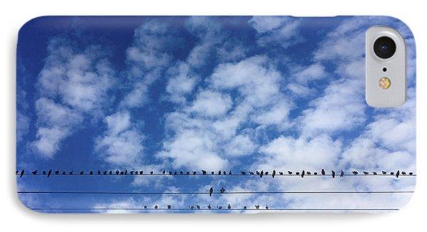 Birds On Wire IPhone Case