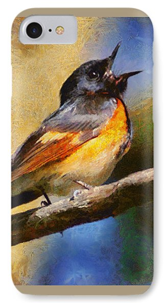 IPhone Case featuring the painting Birdsong by Elizabeth Coats