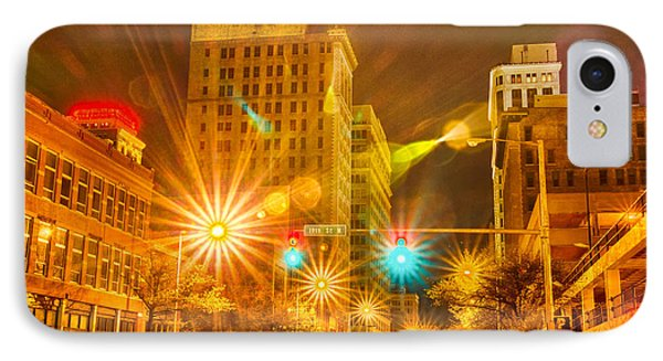 Birmingham Alabama Evening Skyline Phone Case by Alex Grichenko