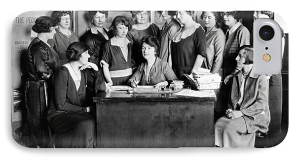 Birth Control Pioneer Sanger IPhone Case by Underwood & Underwood