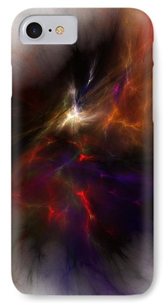Birth Of A Thought IPhone Case by David Lane