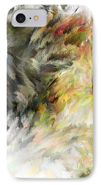 IPhone Case featuring the digital art Birth Of Feathers by Dale Stillman