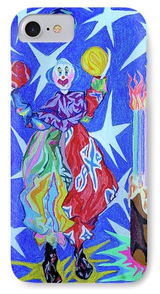 Birthday Clown Phone Case by Robert SORENSEN