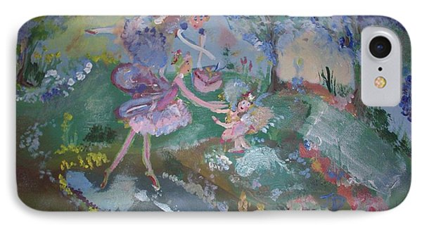 Birthday Fairy IPhone Case by Judith Desrosiers