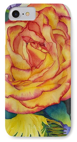 Birthday Rose IPhone Case by Judy Mercer