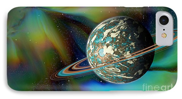 Birthing Planet IPhone Case by Curtis Koontz