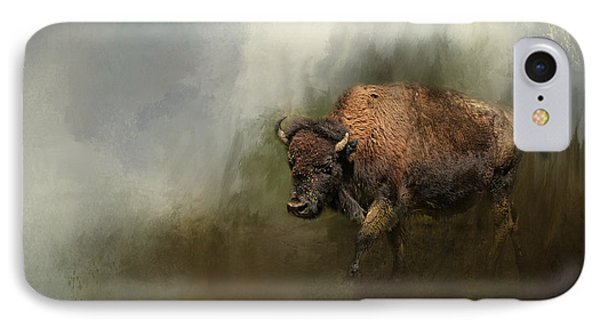 Bison After The Mud Bath IPhone Case
