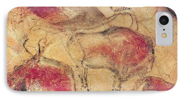 Bisons From The Caves At Altamira IPhone Case by Prehistoric