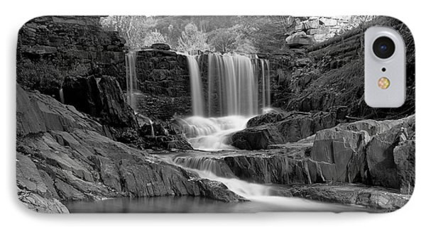 Bissell Falls   IPhone Case by Ed Boudreau