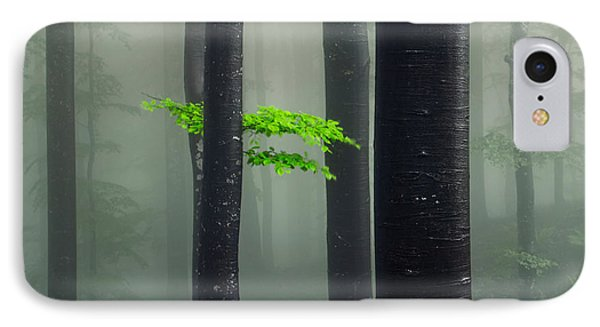 Bit Of Green Phone Case by Evgeni Dinev