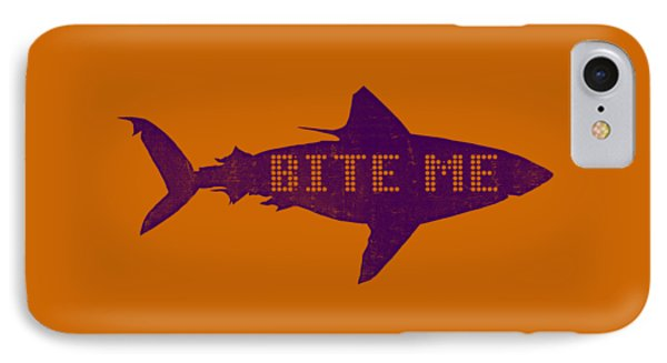 Bite Me IPhone Case by Michelle Calkins