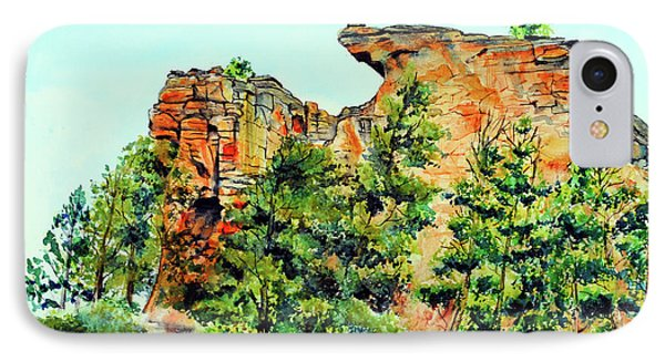 Bitterroot Cliffs Phone Case by Tracy Rose Moyers
