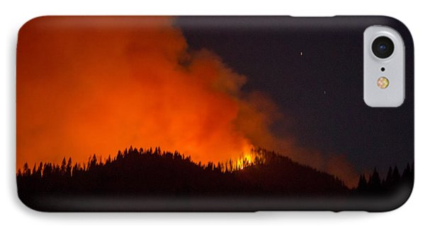 Bitterroot Forest Fire IPhone Case