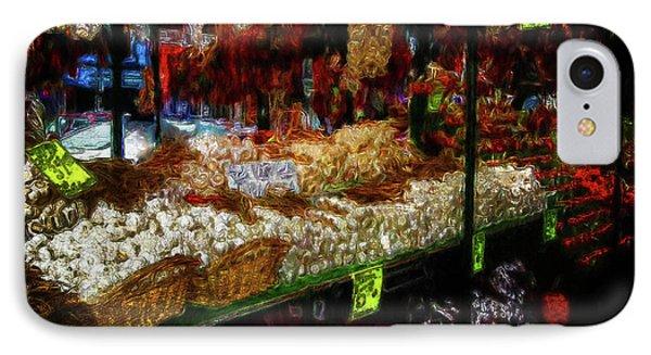Biward Market Garlic IPhone Case