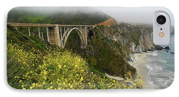 Bixby Bridge IPhone Case by Harry Spitz