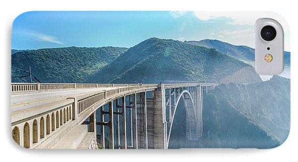 IPhone Case featuring the photograph Bixby Bridge,big Sur by Jingjits Photography