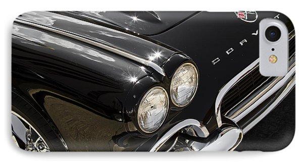 Black '62 IPhone Case by Dennis Hedberg