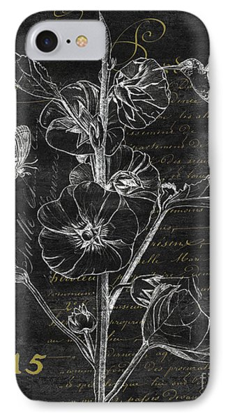 Black And Gold Hummingbirds 1 IPhone Case by Debbie DeWitt