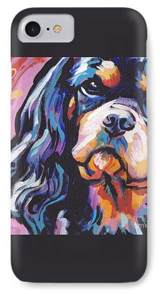 Black And Tan Cav Phone Case by Lea S