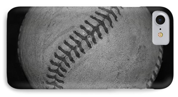 Black And White Baseball Phone Case by Rob Hans