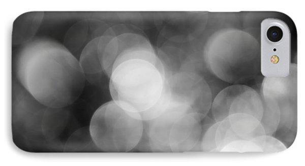 Black And White Bokeh IPhone Case
