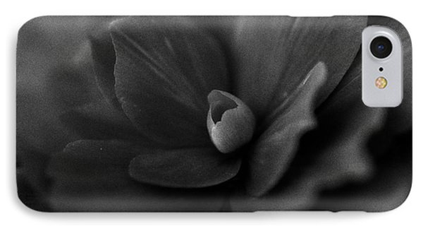 Black And White Flower Fifty IPhone Case