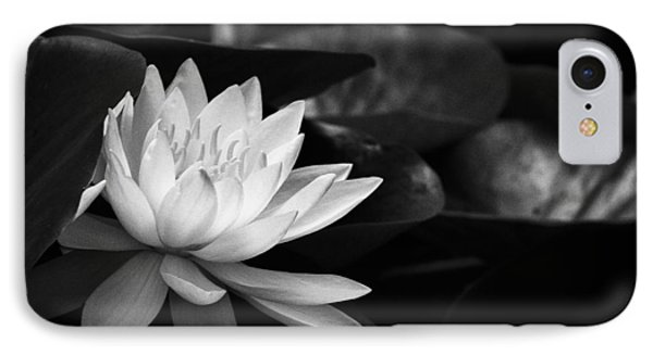 Black And White Flower Nine IPhone Case