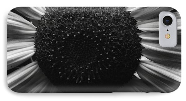 Black And White Flower Twelve IPhone Case