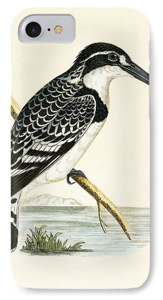 Black And White Kingfisher IPhone 7 Case