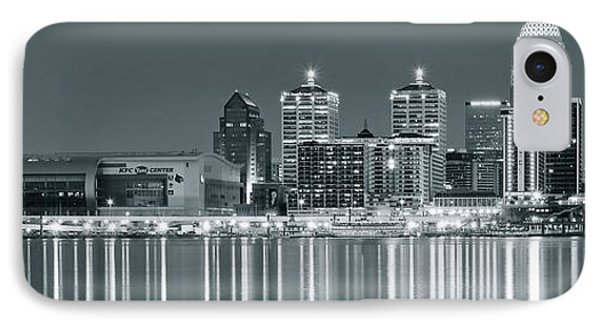 Black And White Louisville IPhone Case