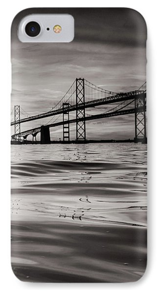 IPhone Case featuring the photograph Black And White Reflections 2 by Jennifer Casey